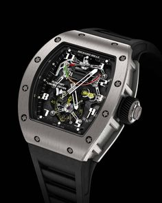 """Richard Mille Tourbillon G-Sensor RM 036 Jean Todt able to """"indicate"""" decelerations in G!"""
