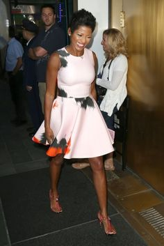 Tamron Hall. I love her fashion!