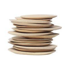 Plato de madera de Mango para darle un toque natural a tu mesa. #navidad #regalos #regalosnavideños