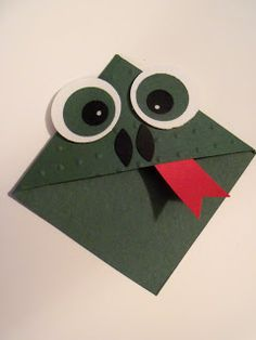 KENDRA'S CREATIVE CORNER: Corner Bookmark...