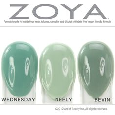 No Dupes: Zoya Wednesday, Neely and Bevin Compared!