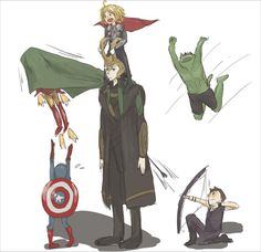 Avengers: Loki and The Kid Avengers