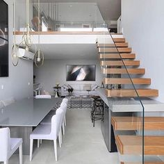 Glass balustrades in small spaces can help to open them up and bring more light in  #luxury #homeware #home #propertydeveloper #luxuryhomes #luxuryliving #luxuryproperties #property #style #texture #architecture #instacool #decor #design #modernliving #apartment #realestate #highend #architects #creative #standout #innovation via @fourconceptions - posted by GS8 Developments https://www.instagram.com/gs8developments - See more Luxury Real Estate photos from Local Realtors at…