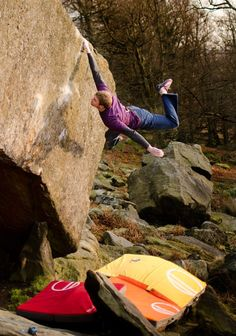 Stickin' it - Ned Fehally - The Ace (8B), Stanage Plantation, Peak District, UK (Ph Nick Brown)
