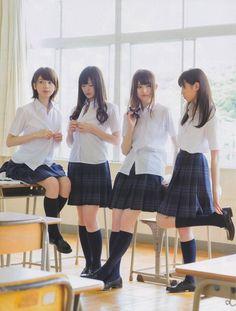 """""""seifuku:  (via [MAG] FRIDAY 2012.8.17 / Nogizaka46′s Shichifukujin 8P «Nogizaka46)  """""""