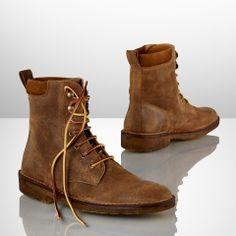 17fe65dbe9dac4 Oiled Suede Kirt Boot - Ralph Lauren Boots