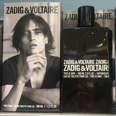 Omdat hij zo goed samen zou gaan  met de versie voor vrouwen..kon het niet laten deze vast te leggen in mijn neus en op de plaat..De stoere fles,  de tekst, de geur.. de all senses beleving..mmmmm..