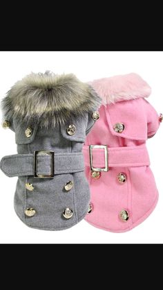 Dog Cat Winter Luxury Jacket Thick Warm Coat Puppy Clothes - Tap the pin for the most adorable pawtastic fur baby apparel! You'll love the dog clothes and cat clothes! Dog Clothes Patterns, Puppy Clothes, Small Dog Clothes, Dog Items, Pet Fashion, Dog Costumes, Dog Sweaters, Dog Dresses, Dog Coats
