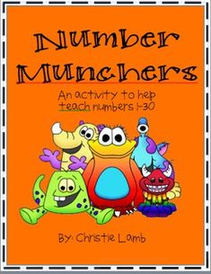 This is a fun way to practice number recognition for numbers 1-30.  This game can also be used in a math center.  Your students will beg you to pla...
