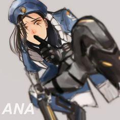 "I LOVE Pharah and when photos and images were leaked of the next character I was like: ""Sniper?! I think you mean Pharah's mom!"" So I was all set to embrace this wonderful and refreshing character...."
