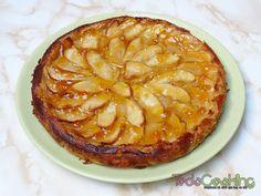 La tarta de manzana, es uno de los postres que más gustan en todo el mundo. En esta ocasión, te enseño a preparar una tarta de manzana y yogur. Cinnamon Rolls, No Cook Meals, Apple Pie, Recipies, Food And Drink, Pudding, Nutrition, Bread, Homemade