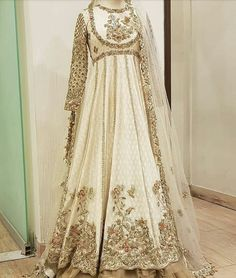 Asian Wedding Dress, Pakistani Wedding Outfits, Wedding Dresses For Girls, Pakistani Wedding Dresses, Bridal Outfits, Pakistani Bridal Couture, Asian Bridal, Indian Outfits, Nikkah Dress