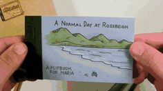 A Nomal Day at Rossbeigh (marriage proposal flipbook) - Ben Zurawski