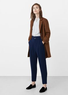 37 Pretty Work Attire with Trousers for Women Based on your office culture, it ma. 37 Pretty Work Attire with Trousers for Women Based on your office culture, it ma. Casual Work Outfits, Mode Outfits, Work Attire, Office Outfits, Work Casual, Classy Outfits, Fashion Outfits, Office Attire, Chic Outfits
