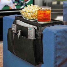 6-Pocket-Couch-Buddy-Remote-Control-Holder-Sofa-Arm-Rest-Organizer-Caddy-Bag