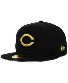 New Era Cincinnati Reds Gold 59FIFTY Cap