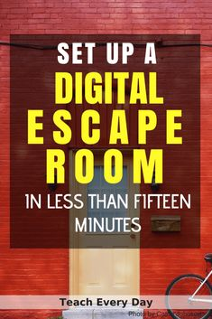 How To Make Any Worksheet Into an Escape Room in the Classroom Wie erstelle ich ein Arbeitsblatt im Klassenraum? Escape Room – Teach Every Day Escape Room Diy, Escape Room For Kids, Escape Room Puzzles, Escape The Classroom, Flipped Classroom, Spanish Classroom, Science Classroom, School Classroom, Classroom Activities