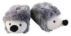 Kids Novelty Slippers Winter Present Warm Cosy Comfy Gift Funny Furry Animal Kids Slippers, Cloth Bags, Cosy, Hedgehog, Presents, Warm, Winter, Funny, Gifts