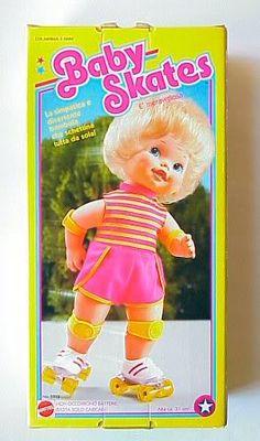 Baby Skates!!!  I loved this doll.