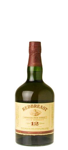 Redbreast Irish Whiskey tastes like dessert. Copper pot distilled.