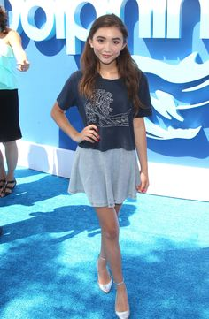 Rowan Blanchard || Must-See Celeb Styles from the 'Dolphin Tale 2' Premiere | Twist