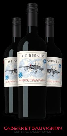 The Seeker Wines - Cabernet Sauvignon (Central Valley, Chile)