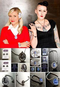 Geek Fashion, Star Fashion, Opal Rings, Silver Rings, Star Wars Jewelry, Sterling Silver Cross Pendant, Tiffany Jewelry, Geek Chic, Diamond Jewelry