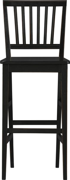 """Village Black 30"""" Barstool in Barstools 
