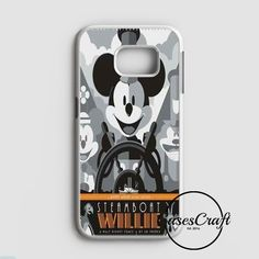 Steamboat Willie Tom Whalen Disney Mickey Mouse Samsung Galaxy S7 Case | casescraft