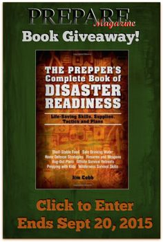 What if there was a blueprint that organized the steps a family the preppers complete book of disaster readiness by jim cobb reviewgiveaway trayerwilderness giveaway natprep malvernweather Images