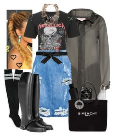 """""""Paula"""" by tmorris-tm on Polyvore featuring Hunter, Aéropostale, Topshop, OneTeaspoon, Givenchy, ShedRain, Mr. Gugu & Miss Go, S'well, Marc Jacobs and Alice + Olivia"""