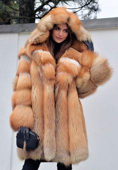 NEW 2017 GOLD FOX  FUR COAT CLAS CHINCHILLA SABLE MINK LYNX SILVER FIRE VEST | Clothes, Shoes & Accessories, Women's Clothing, Coats & Jackets | eBay!