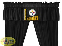 Pittsburgh Steelers Valance - maybe they have a Hawkeye one
