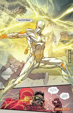 First Image of the new Flash villain, Godspeed. Flash rebirth #3