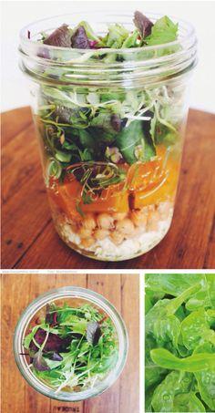Salada na jarra