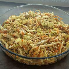 Aprenda a preparar a receita de Salada de acelga e cenoura agridoce