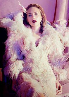 Scarlett Johansson by Sofia Sanchez and Mauro Mongiello (December 2013)