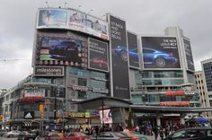 Dundas Square, Toronto  #Dundas Square #MLI #ESL #LearnEnglish #Canada #ON #Homestay #StudyinCanada