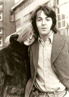 "fuckindiva: "" Linda and Paul Mccartney, 1969 """