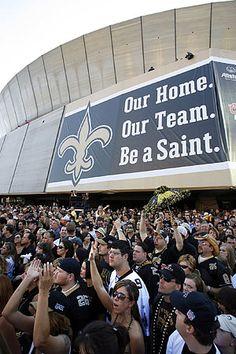 Saints fans | saints-fans-at-dome