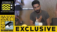 Rahul Kohli (iZombie) @ 2015 San Diego Comic-Con | AfterBuzz TV