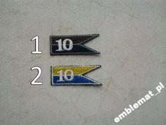 Haft Emblemat 10 Opolska Brygada Logistyczna 0112