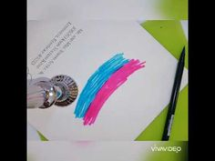 Colorful Envelope Back and Calligraphy