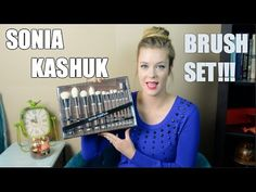 Today I review the new, limited edition, Sonia Kashuk Exotic Artisan 12 Piece Brush Set. Please take a moment to click the like button and comment below on what videos you would like to see from me. Thank you for watching!!
