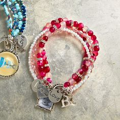 Create a special Bead Gallery® Baby Girl Bracelet for Mom
