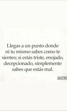 Sad Love Quotes, Mood Quotes, True Quotes, Best Quotes, Words Can Hurt, Quotes En Espanol, Inspirational Phrases, Sad Life, Sad Day