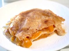 Get Double-Layer Peach Cobbler Recipe from Cooking Channel