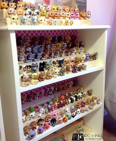 Some easy DIY toy storage Solutions - Mostly parents with small kids spend a lot of time is asking them to clear the mess of toys as kids usually play and throw the toys across the room. Doll Storage, Diy Toy Storage, Storage Ideas, Shop Storage, Little Pet Shop Toys, Little Pets, Toy Storage Solutions, Organizing Solutions, Lps Toys