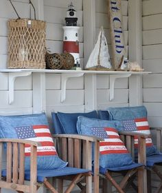 Looking out to Sea - Relax in these awesome sun chairs like a 1930's movie star!