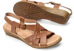 Born Karielle in New Camel - Born Womens Sandals on Bornshoes.com